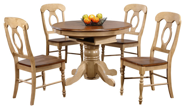 piece brook round or oval butterfly leaf dining set dining sets