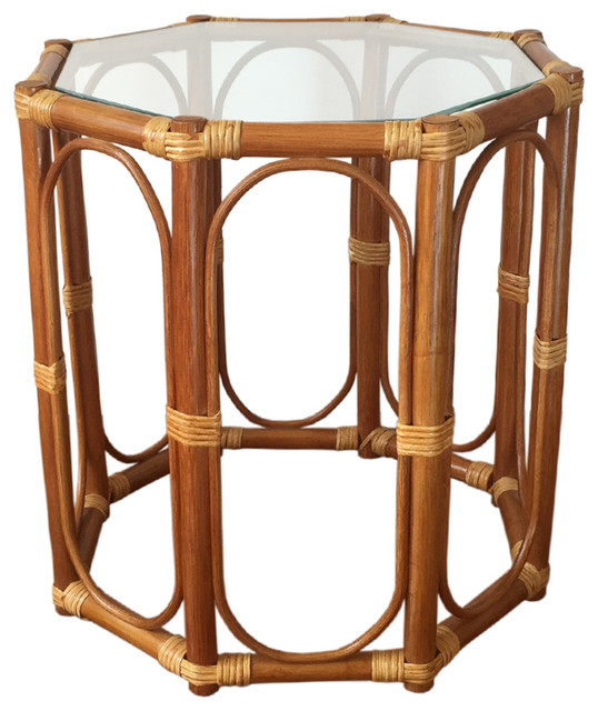 Wicker Coffee Table And End Tables: Rattan Coffee End Table Trudi