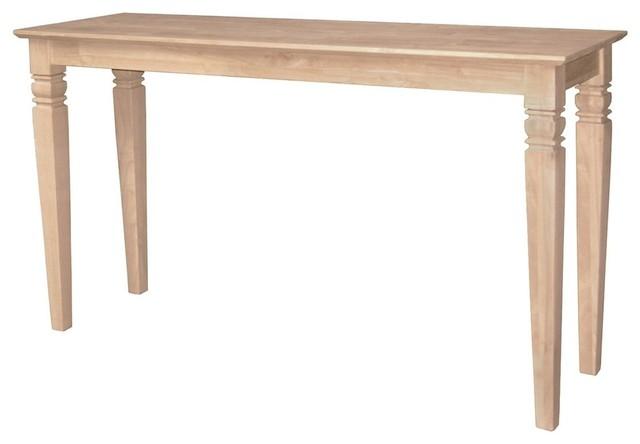 Mason Java Console Table, Unfinished.