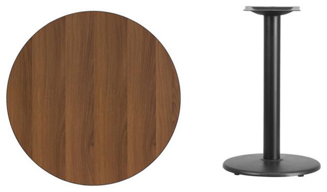Superbe Round Walnut Table Top XU RD 30 WALTB TR18 GG