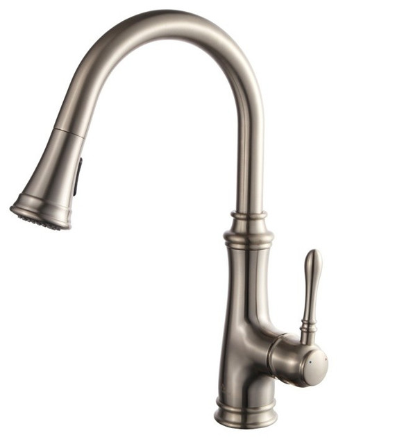 Pull-Down Kitchen Faucet.