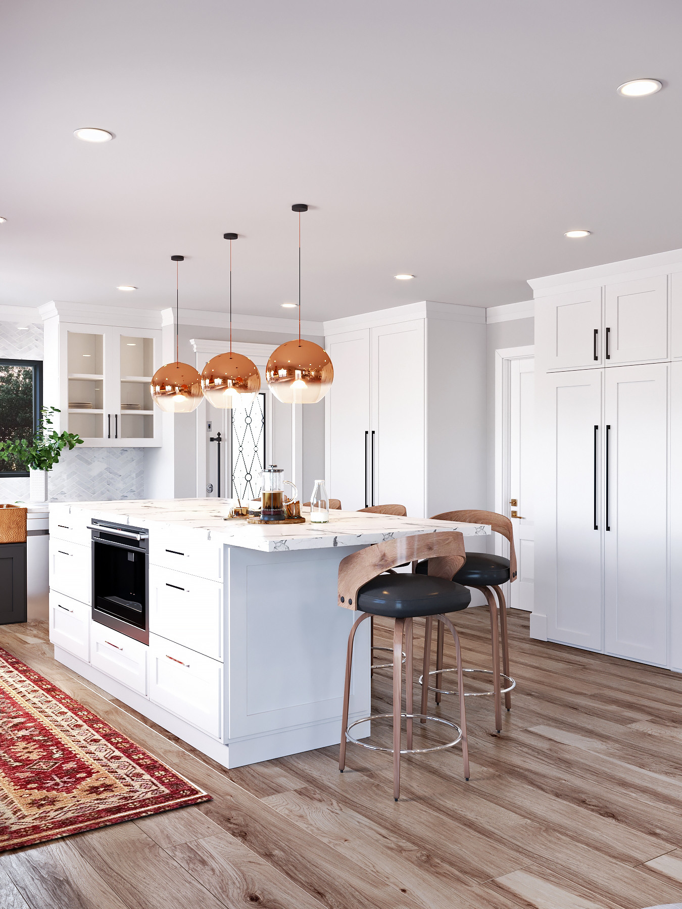 Kitchen & Family Room Open Concept