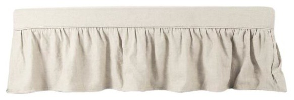 Bench Elena Birch Cotton Linen Fabric New.