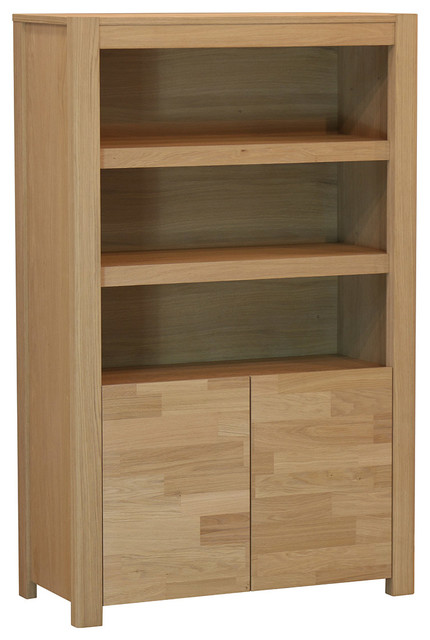 Nordi Solid French Oak Storage Cabinet.