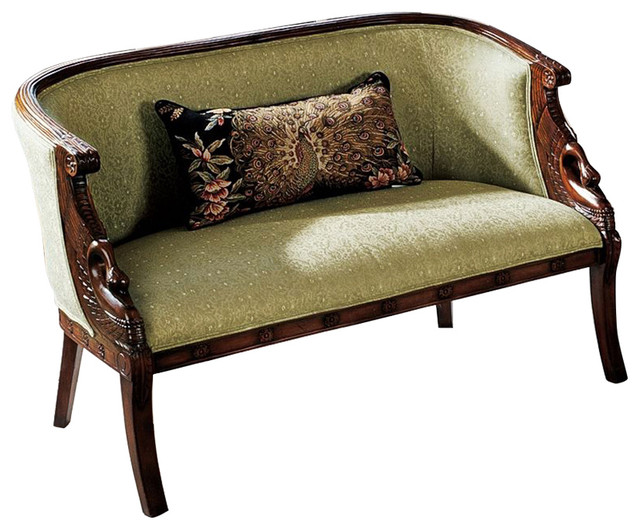 Amazing Due Cigno Settee Gmtry Best Dining Table And Chair Ideas Images Gmtryco