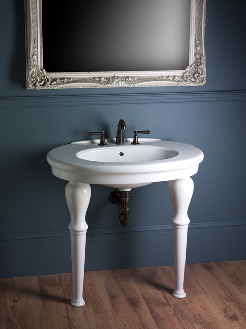 Bathroom Sinks London georgian townhouse - traditional - bathroom sinks - london -