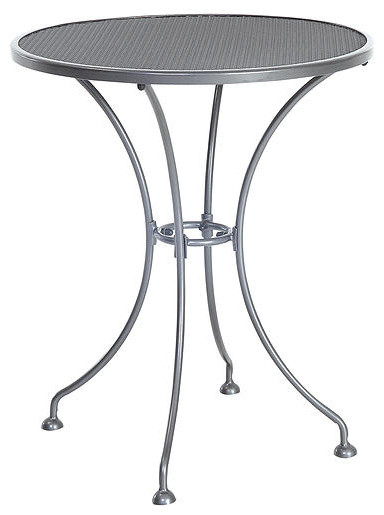 Steel Mesh Small Bistro Table 24 Quot Contemporary
