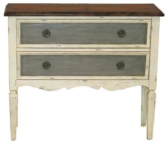 "36"" Hall Chest, Multi - Farmhouse - Accent Chests And Cabinets - by Pulaski"