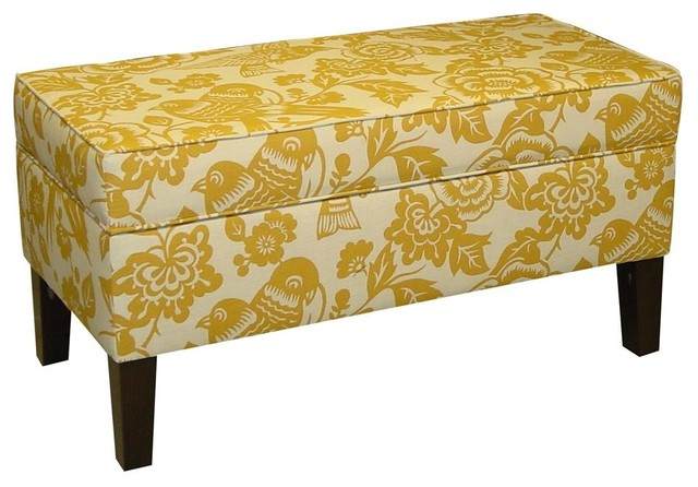 Enjoyable Gold Storage Bench Dailytribune Chair Design For Home Dailytribuneorg