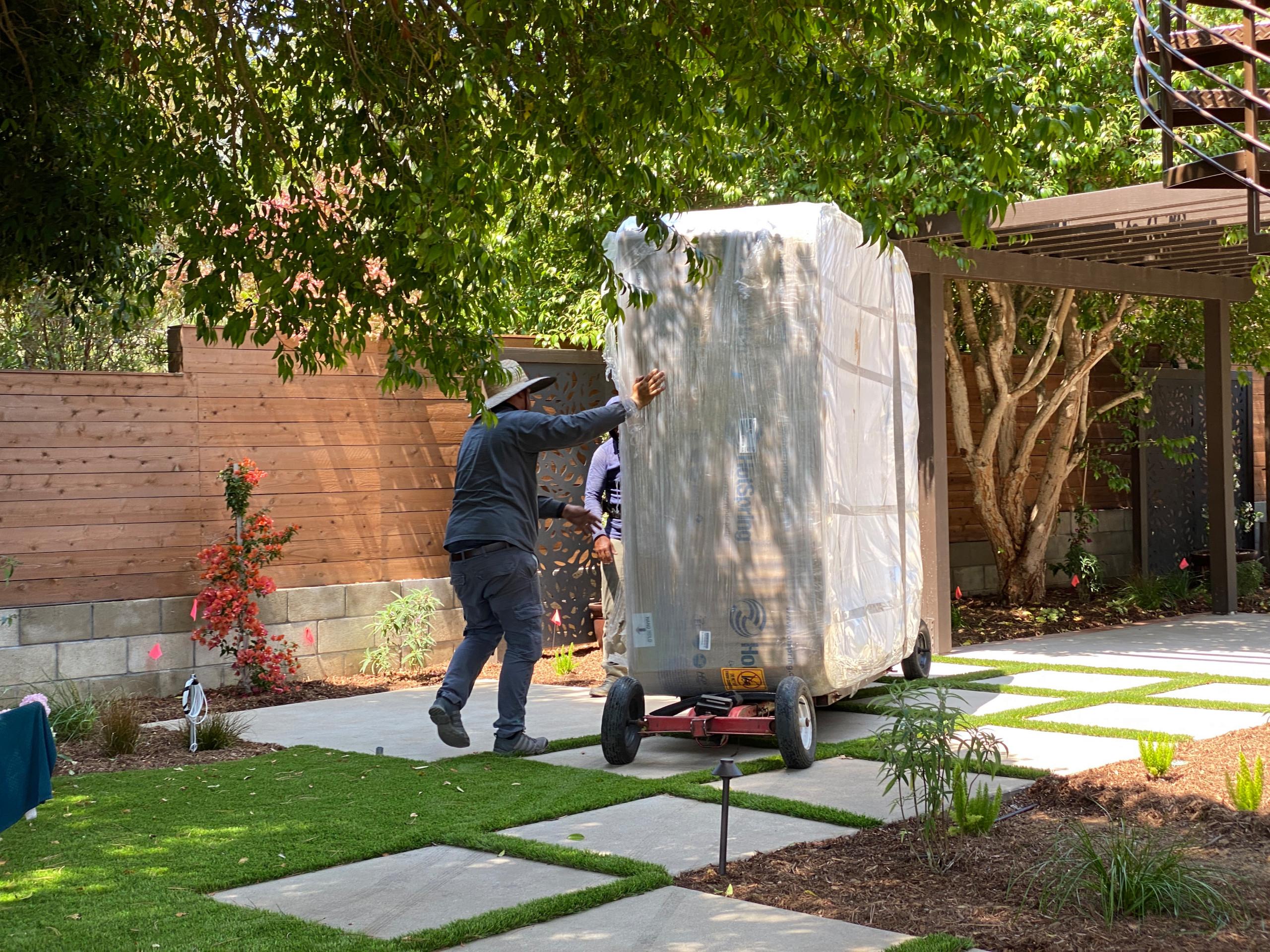 Install a New Spa in a Renovated Backyard in La Jolla