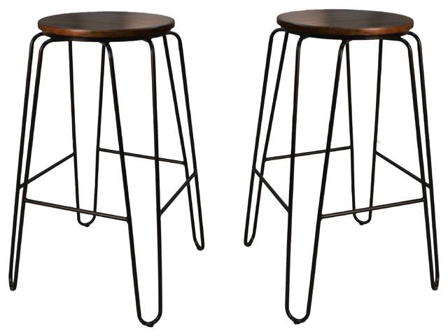 Cool Seattle Stacking Stools Elm Black Uwap Interior Chair Design Uwaporg