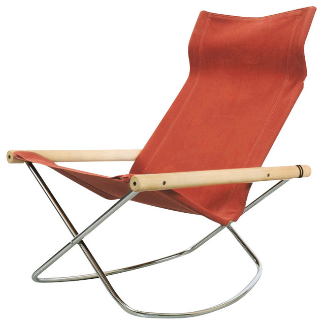 NY Rocking Chair Modern Folding Chairs And Stools by Gessato