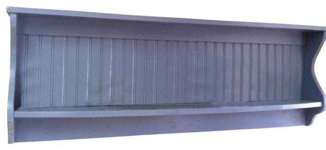 Plate Rack Wall Shelf Country Wood Display Plate and Bowl Rack Primtive Shelf  sc 1 st  Houzz & Plate Rack Wall Shelf Country Wood Display Plate and Bowl Rack ...