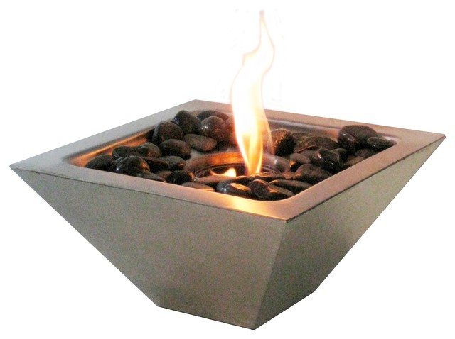 Indoor/Outdoor Fireplace modern-tabletop-fireplaces - Indoor/Outdoor Fireplace - Modern - Tabletop Fireplaces - By Shop