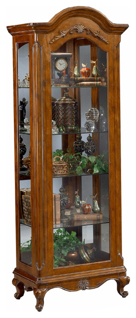 Philip Reinisch Co. Renaissance Charlemagne Curio Cabinet - Transitional - China Cabinets And ...