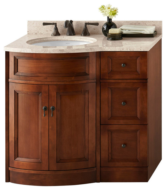 Ronbow Corp Ronbow Marcello Solid Wood 24 Vanity Set