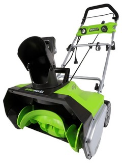 Shop Houzz | Greenworks GreenWorks 13 Amp 20-Inch Electric Snow ...