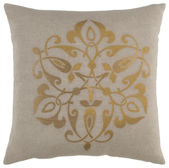 Ravati Pillow 22x22x5, Polyester Fill.