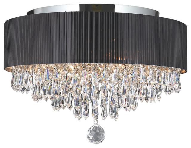 Shop Houzz  Crystal Lighting Palace Modern 4 Light Chrome Finish