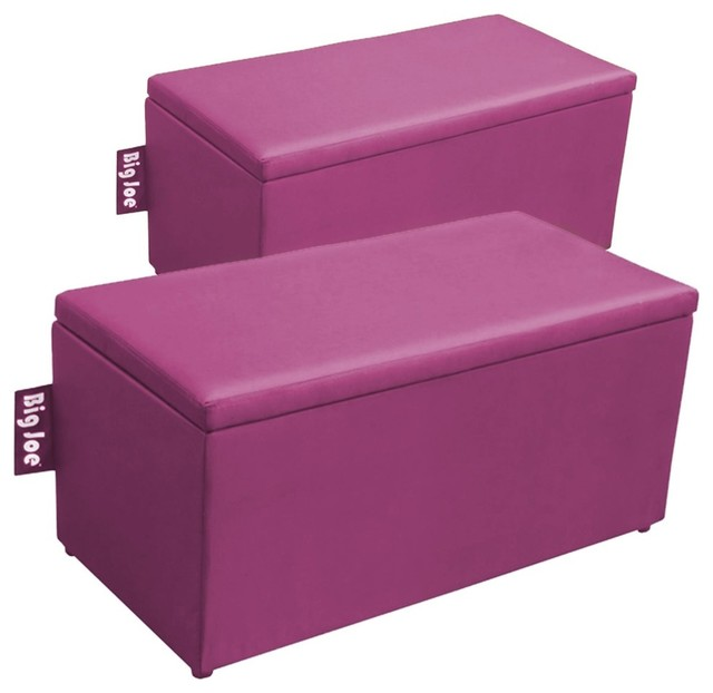 Comfort Research Big Joe 2-in-1 Bench Ottoman - Contemporary ...