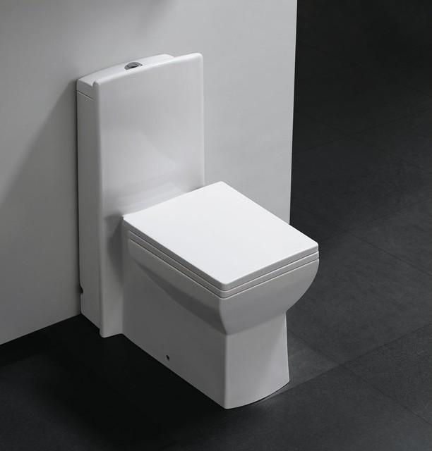 pesaro one piece dual flush modern bathroom toilet - Modern Bathroom Toilet