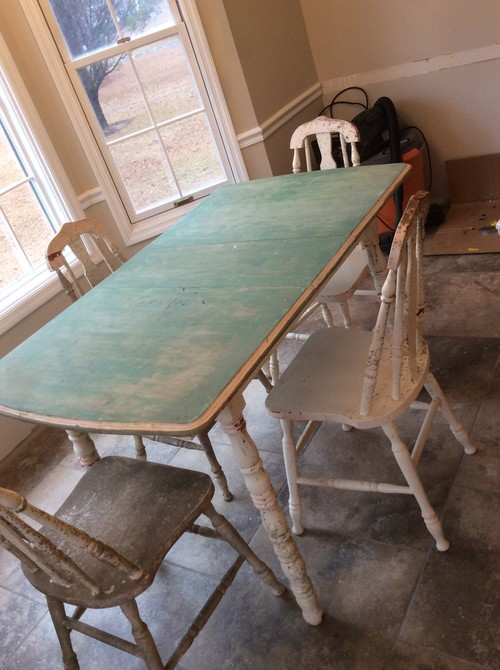 Old Table Set