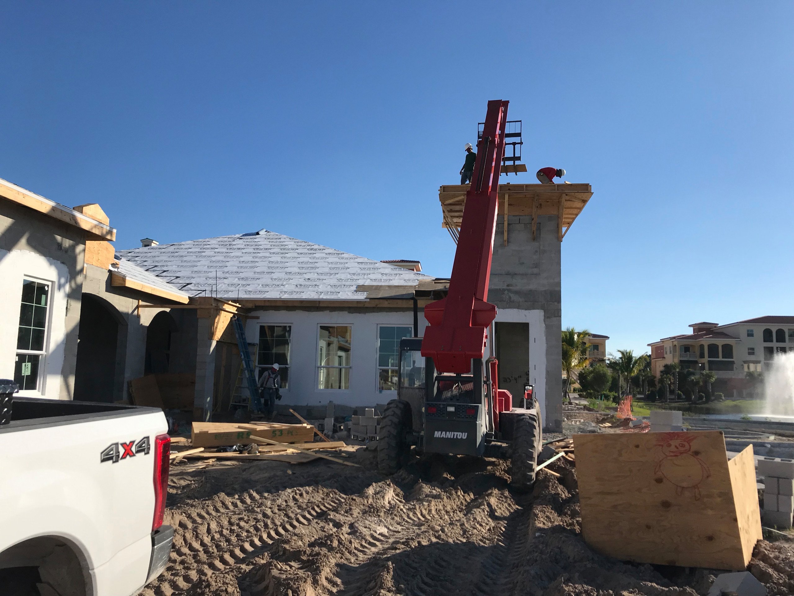 Grading and Concrete Work