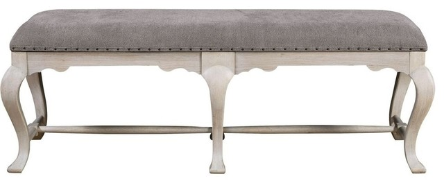 Universal Elan Bed End Bench, Belgian Wheat.