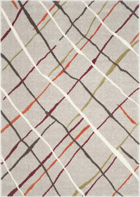 Safavieh Porcello Prl4816a Grey, Multi 6&x27;7 X 9&x27;6 Rug.