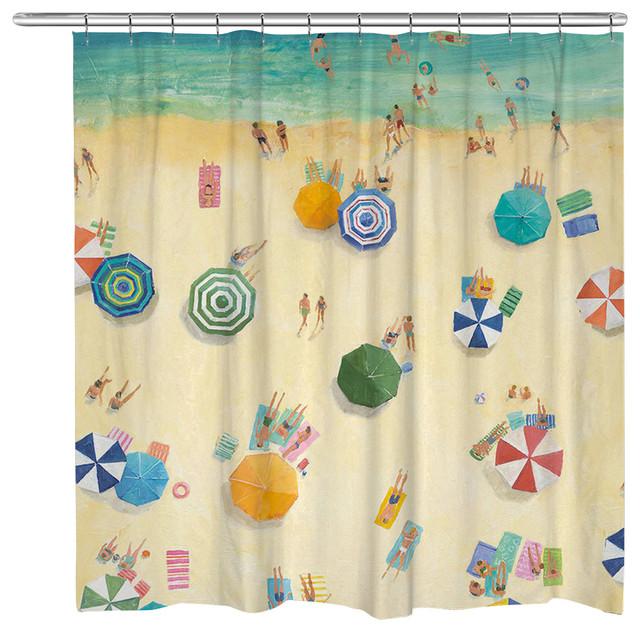 Summer Fun Shower Curtain - Beach Style - Shower Curtains - by ...