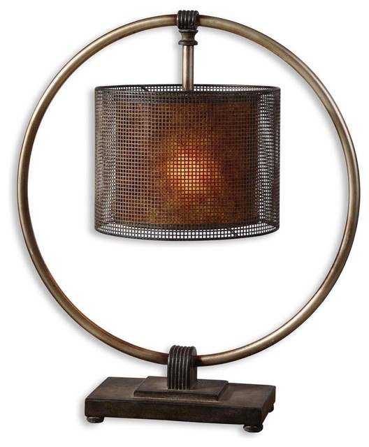 Uttermost Dalou Hanging Shade Table Lamp.