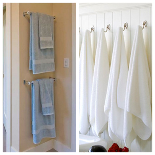 Poll Towel Bar Or Towel Hooks