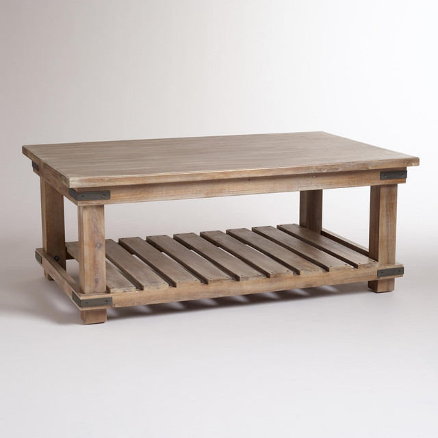 Cameron Coffee Table Contemporary Coffee Tables By Cost Plus World Market
