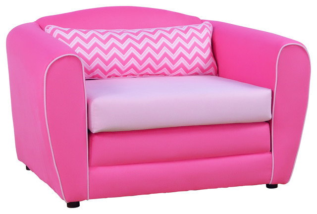 Tween Sleeper Chair Izzy Bubblegum With Bubblegum And