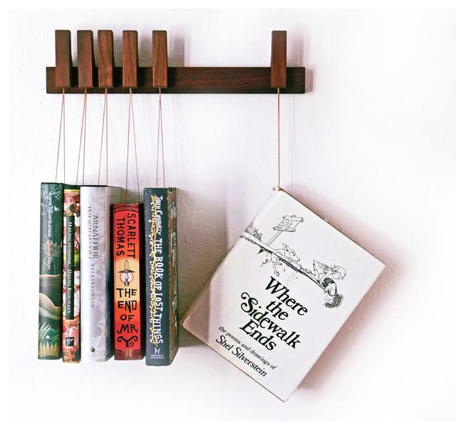 Book Rack Short, Walnut