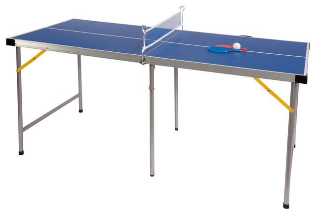 Folding Portable Ping Pong Table Transitional Game Tables