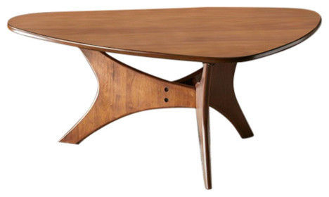 Thorton Wood Coffee Table Brown