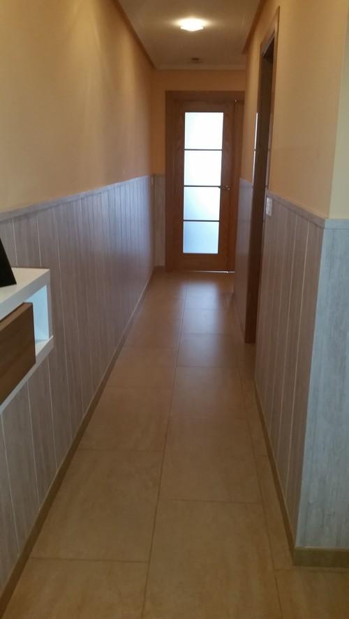 Pasillos decorados con papel pintado best decorar el - Papeles pintados para pasillos ...