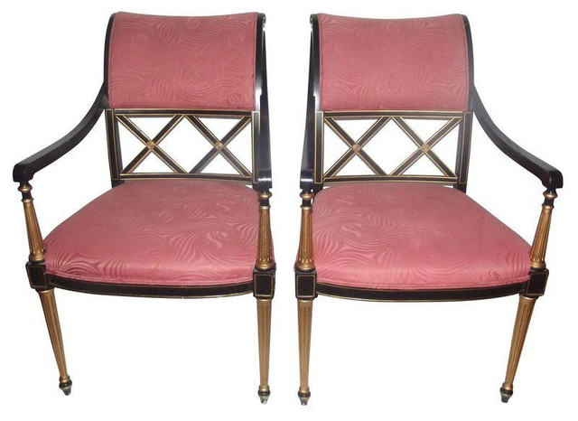 Incroyable Dorothy Draper Regency Chairs   A Pair   $6,000 Est. Retail   $4,329 On  Chairish
