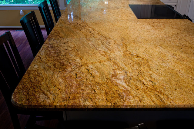 Madura Gold And White Cabinets Dc Metro By Granite