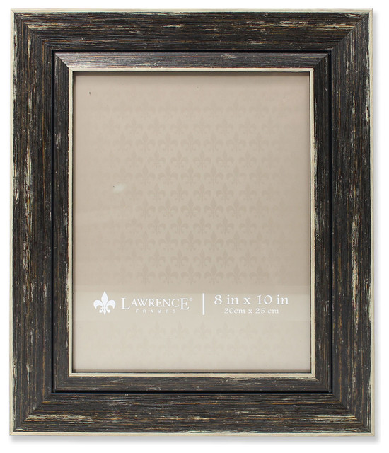 picture frame weathered black 8x10 farmhouse picture frames