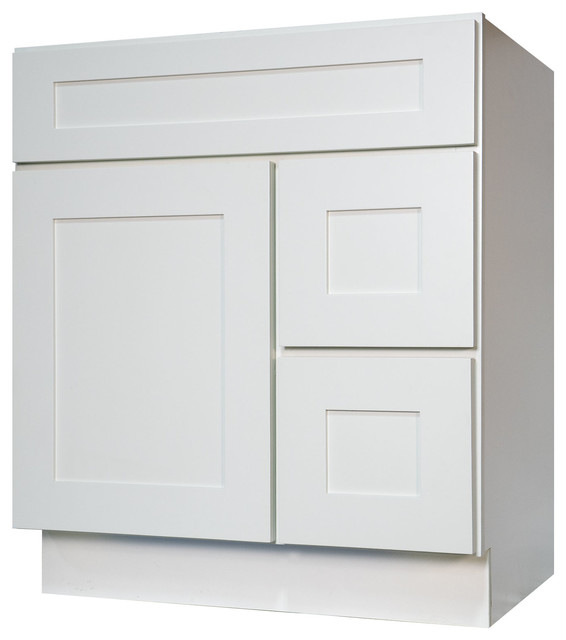 White Bathroom Vanities | Houzz