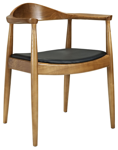 Modway Presidential Dining Armchair Midcentury Dining