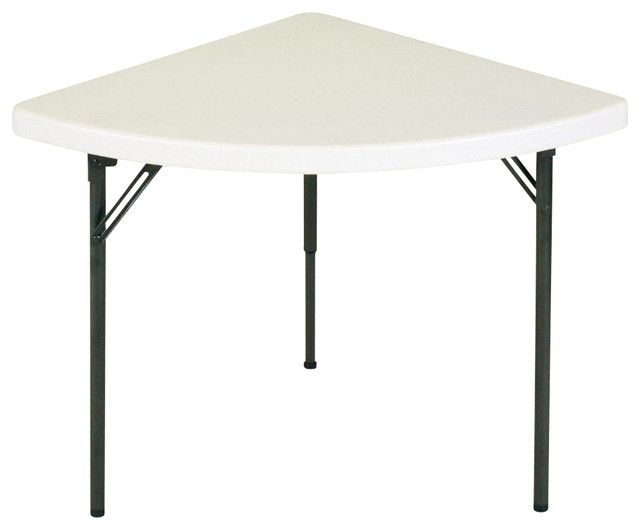 Shop houzz correll inc wedge food service banquet table for Cuisine table retractable