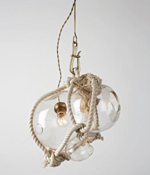 eclectic pendant lighting by rollandhill.com