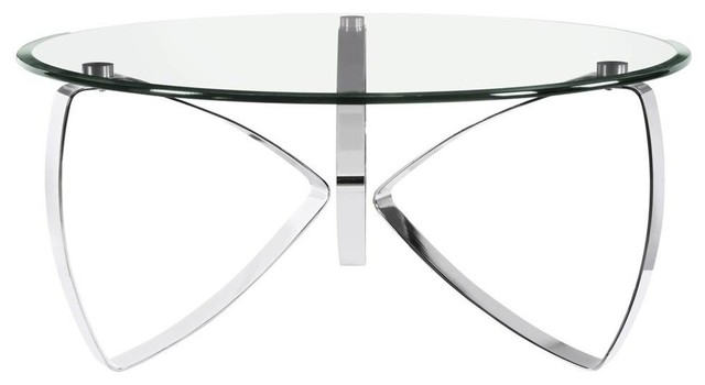 Round Cocktail Table Coffee Tables By Shopladder