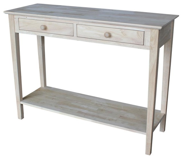 Console Table With Storage Drawers Contemporary