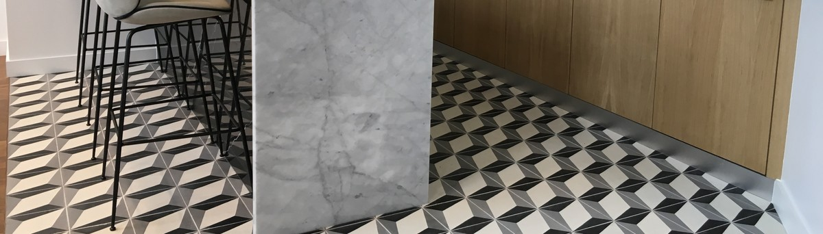 Terrazzo Tiles - London, Greater London, UK NW3 4TG