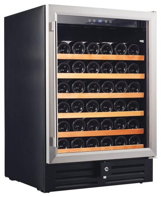 Smith And Hanks 46 Bottle Single Zone Wine Refrigerator.