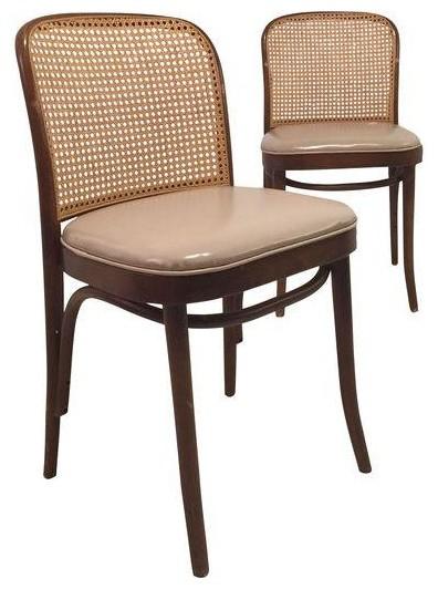 Josef Hoffmann For Thonet Chairs   A Pair Modern Dining Chairs